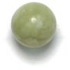 Semi-Precious 10mm Round Green China Nephrite